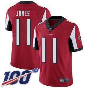 Falcons Julio Jones 100th Season Jersey 1